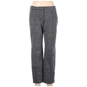 Cartonnier Heathered Gray Seamed Ponte Knit Pants